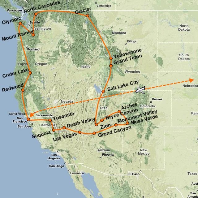 Narodni Parky Usa Grand Canyon Yellowstone Poznavaci Zajezd